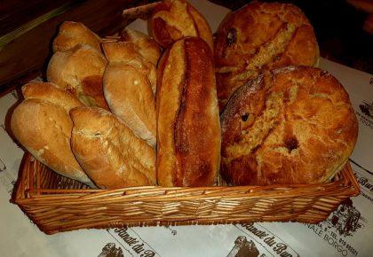 Pane fresco del U Panate du Burgu